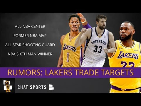 Lakers Trade Rumors: 5 Veterans The Lakers Could Acquire At The 2019 NBA Trade Deadline