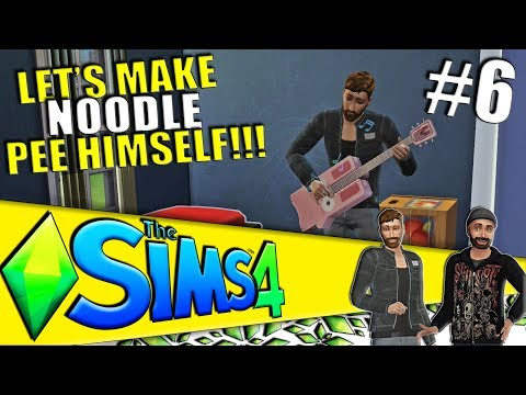 TWINKKY GETS NOODLE A LADY FRIEND - Part 6 - The Sims 4 Co-op Get to Work Gameplay (Season 1)