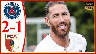 Psg vs Augsburg 2-1 | 2021-22 Pre season Friendly