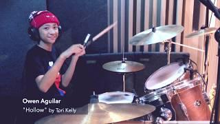 "Owen Aguilar -  ""Hollow"" (Tori Kelly Drum Cover)"