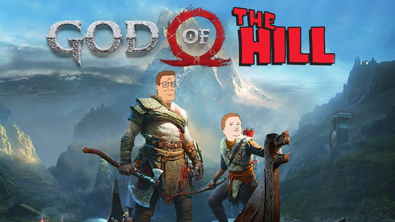 Atreus Is Pretty Much Bobby Hill — God of War x King of the Hill