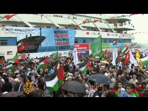 Gaza flotilla due to leave southern Turkey