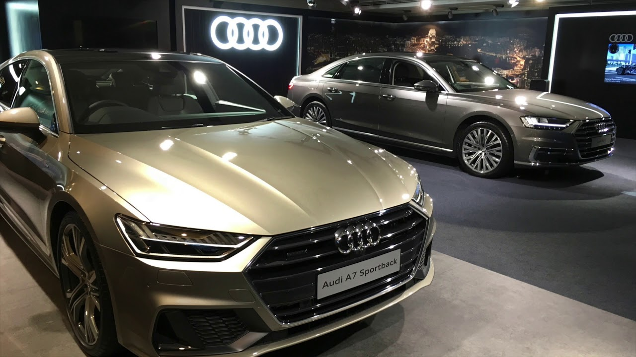 2019 audi a7 55 tfsi s line exterior and interior walkaround youtube. Black Bedroom Furniture Sets. Home Design Ideas