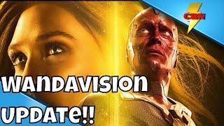 Elizabeth Olsen Wandavision Update