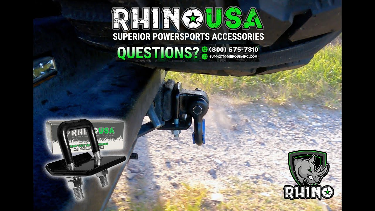 RhinoUSA's Anti--Rattle Hitch Tightener