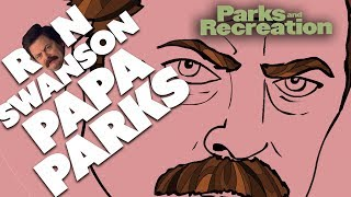 Ron Swanson: Papa Of The Parks Department | Parks and Recreation | Comedy Bites