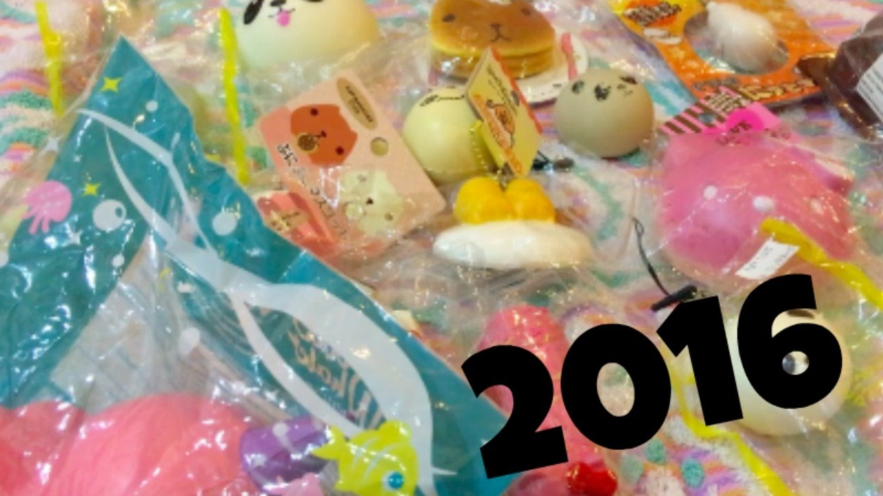 Squishy Collection 2016 : Squishy Collection 2016 Kawaii Llamacorn - YouTube