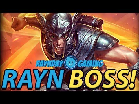RAYN BOSS! MERCURY RAID BOSS GAMEPLAY - SILENCE FOR CRITS! (SMITE Mercury Gameplay and Build)