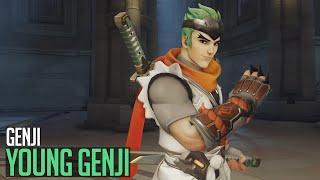 Overwatch | Genji - Young Genji skin
