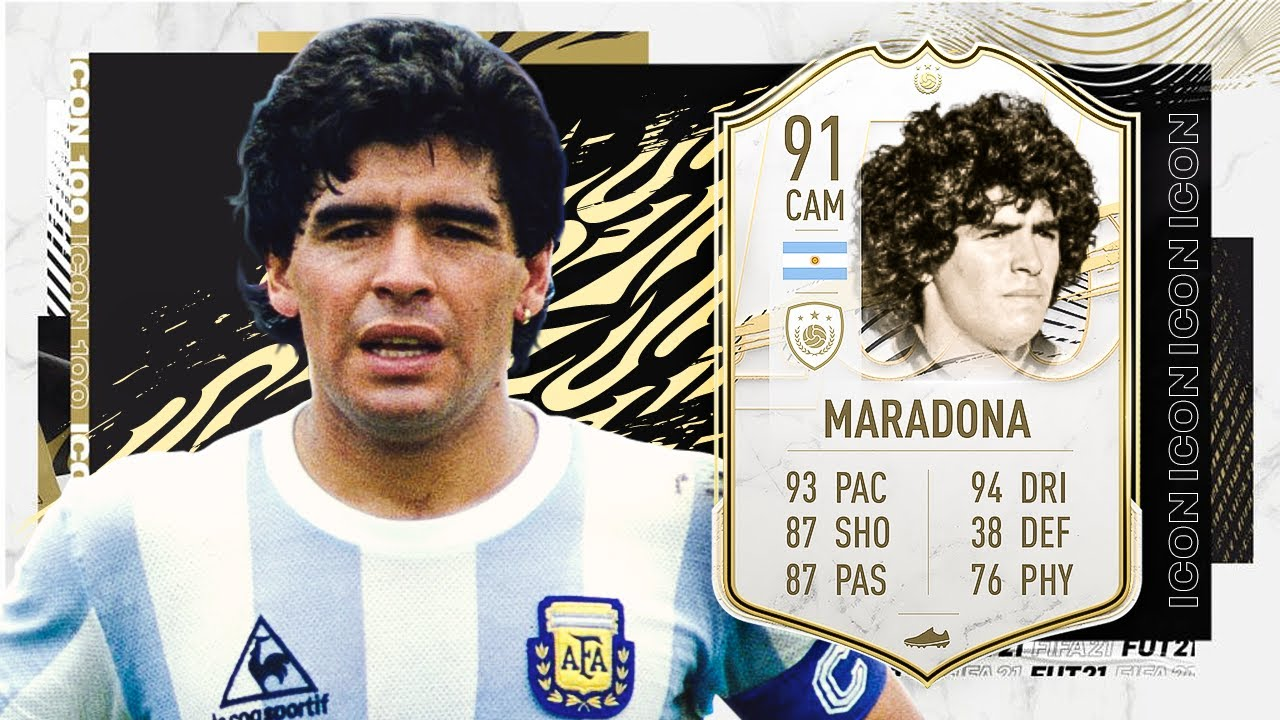 FIFA 21 ICON MARADONA 91! THE BEST ICON IN THE GAME?! FIFA ...