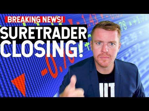 SURETRADER IS CLOSING! END OF OFFSHORE BROKERS?