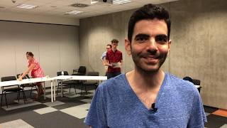 Sonicsmith co-founder and co-owner Noam Lavi's impressions of Storytelling for Success, Krakow, June 2018