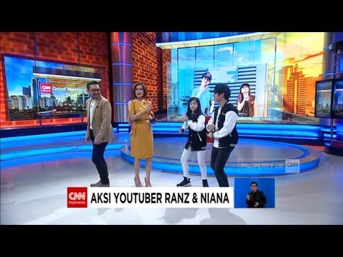 Ada Youtuber Niana & Ranz di CNN Indonesia!