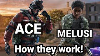 Ace and Melusi Operator Breakdowns | Rainbow Six Siege | Operation Steel Wave