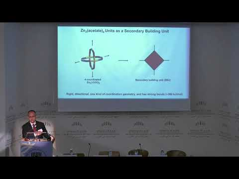 Chemical Sciences | D2S3 9/35 Reticular Chemistry - Omar Yaghi