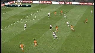 [HD] Germany vs Netherlands | Match Nations League UEFA 2018 | 19 Novembre 2018 | PES 2019