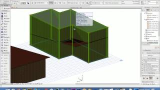 Basic Archi Cad Video 4: Skillion Roof