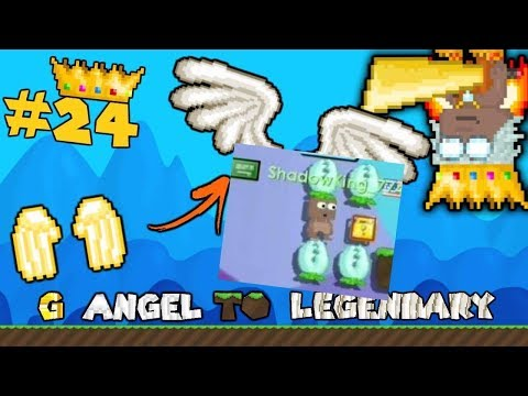 HACKER *AUTOBANNED* By GODS! | G Angel to Legendary #24 - Growtopia