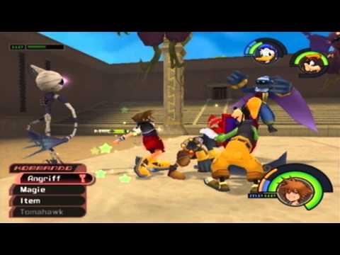 Let´s Play Kingdom Hearts Part 39 - Smart gegen Hot Wheels oder auch: Vivi verkackt hart XD