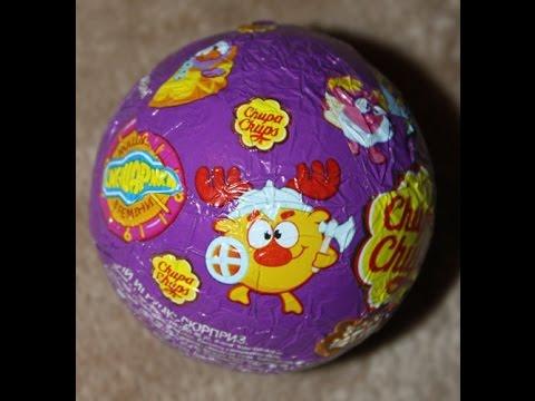 Видео: Шоколадные яйца СМЕШАРИКИ