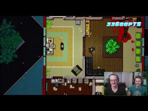 Squatch Gaming Stream - Hotline Miami 2: Hunter Custom Campaign