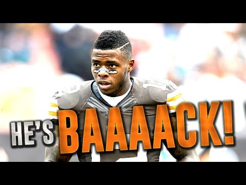 JOSH GORDON REINSTATED BY THE NFL! Browns WR Will Play in 2016!