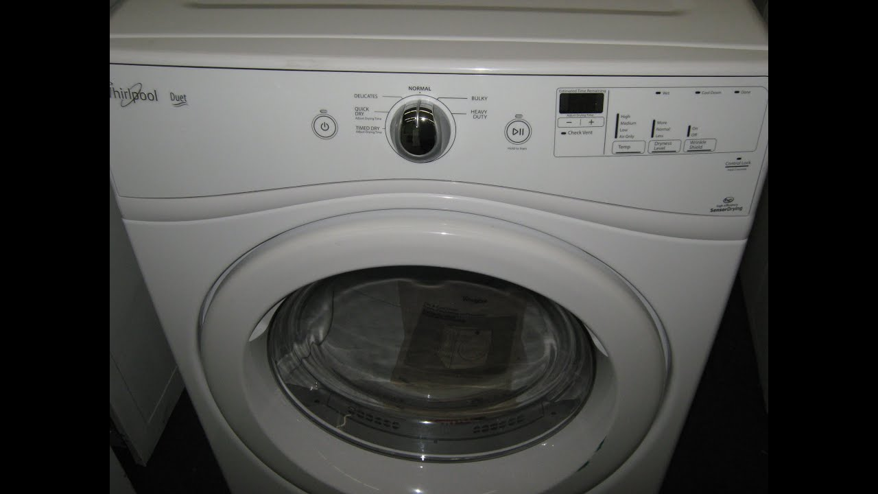 Whirlpool Duet Gas Dryer New Scratch Dent 350 00 Model Wgd70hebw1 You