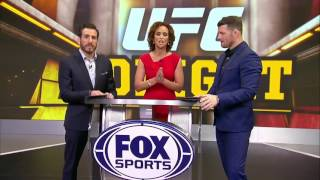 Conor McGregor, Nate Diaz and Yoel Romero impressions from Bisping and Cruz   UFC TONIGHT