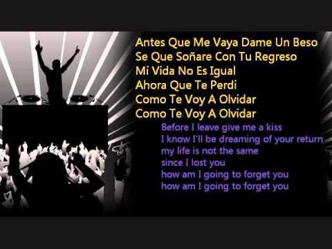 daddy yankee La despedida lyrics spanish & english