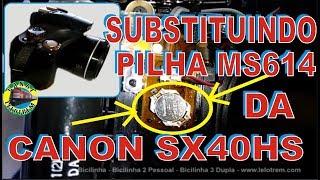 194 - SUBSTITUINDO PILHA MS614…
