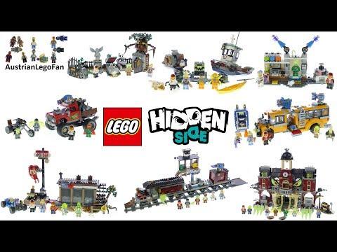 Lego Hidden Side 2019 Compilation Of All Sets