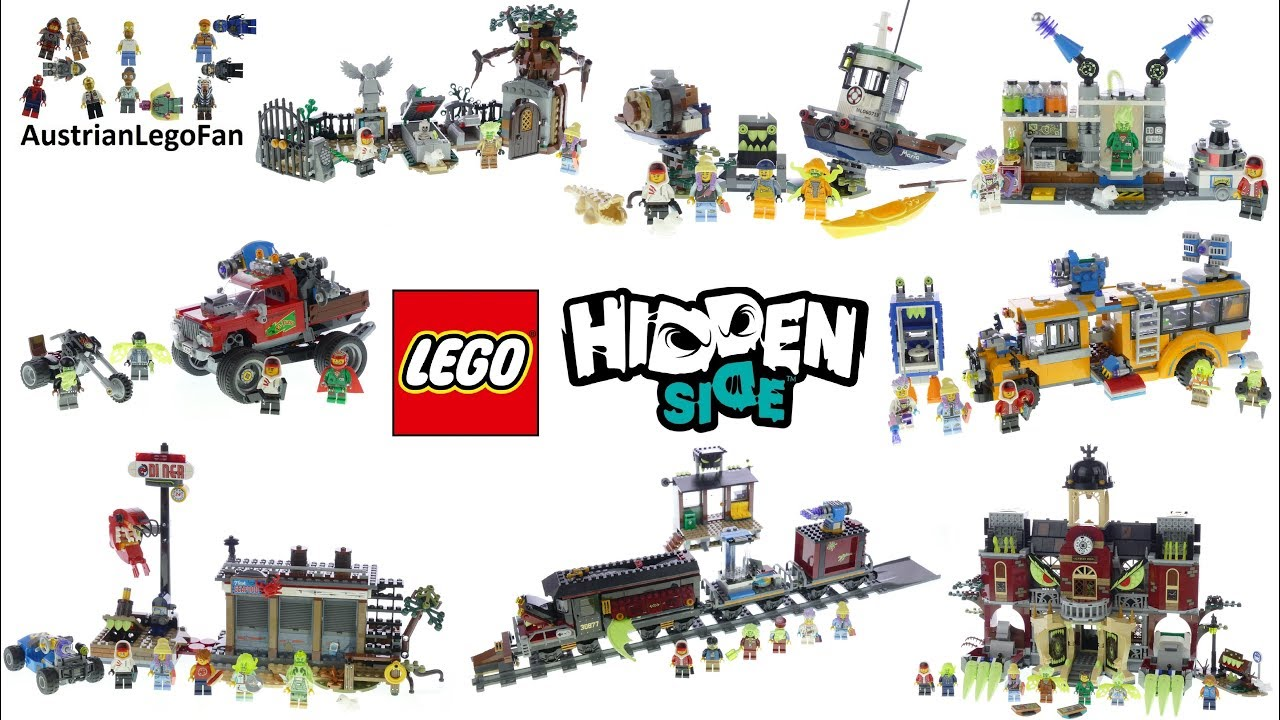 Lego Hidden Side 2019 Compilation Of All Sets Youtube