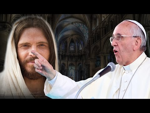 POPE FRANCIS CALLS JESUS A SINNER !!!