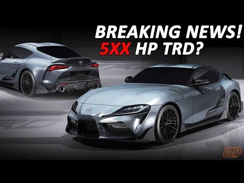 TOYOTA RELEASING MORE POWERFUL VERSION OF THE SUPRA!