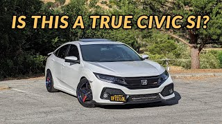 2019 Honda Civic Si Sedan Review - WHERE IS THE VTEC?