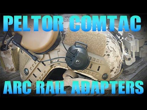 3M Peltor Comtac III Arc Rail Adapters Installation