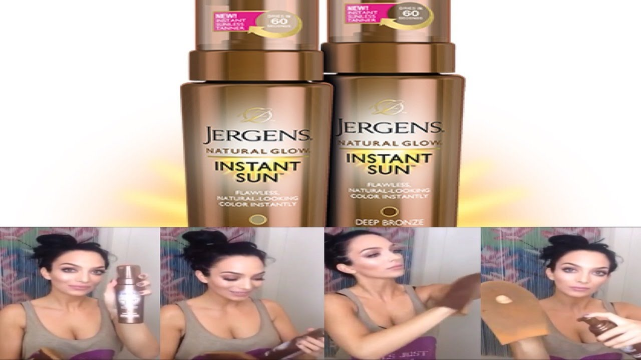 f1f0587e71042 Jergens Natural Glow Instant Sun Review + Story time   my thoughts  ) -  YouTube