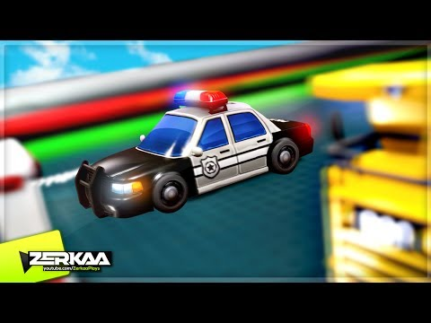 THE FASTEST POLICE CAR! (Micro Machines: World Series)