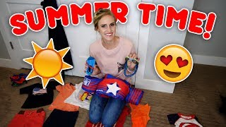 KIDS SUMMER HAUL! Clothes, Toys, and More!