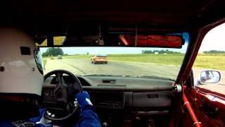24 Hours of Lemons Detroit Irony July  2011 Team Greek Squad (555) Vs Porsche (44)