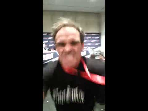 "Trevor Phillips (Steven Ogg) from GTA 5 Tells me ""Go F*** Yourself"" NY Comic Con 2013 (Original)"