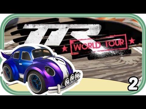 Straßenlöcher Und Abkürzungen - Table Top Racing: World Tour #002 Deutsch - Chigocraft