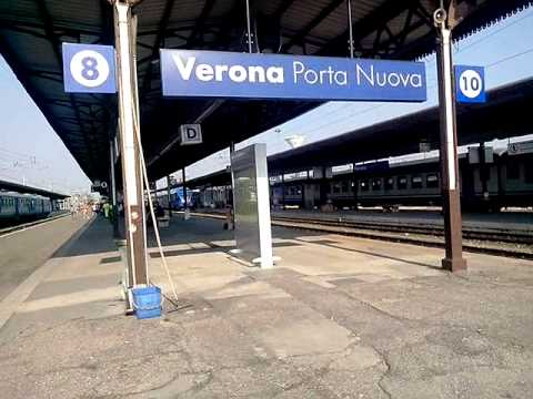 Annunci alla stazione di verona porta nuova parte 2 youtube - Mezzi pubblici verona porta nuova ...