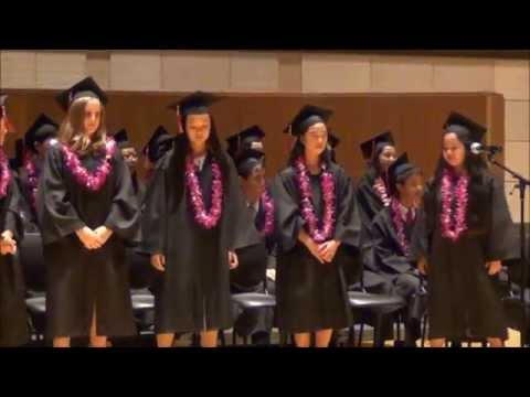 Class of 2015 Graduation - Chinese American International School