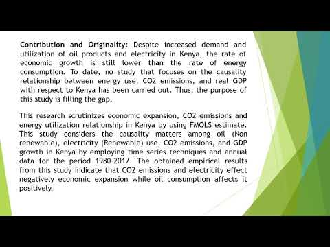 Renewable Energy and Nonrenewable Energy Consumption, Co2 Emissions and Economic Expansion Nexus Fur