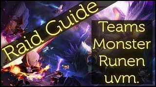 SUMMONERS WAR: Raid Guide (Teams, Monster, Runen, uvm.) (German / Deutsch)