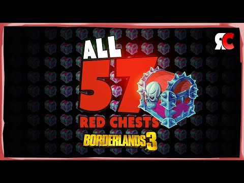 All 57 Red Chest Locations | Borderlands 3 - Complete Red Chest Guide