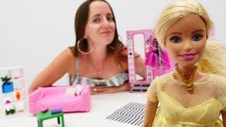 Куда пропало Золотое колье Барби!? Видео и игры для девочек