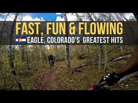 FAST, FUN, FLOWING SINGLETRACK - Eagle, Colorado