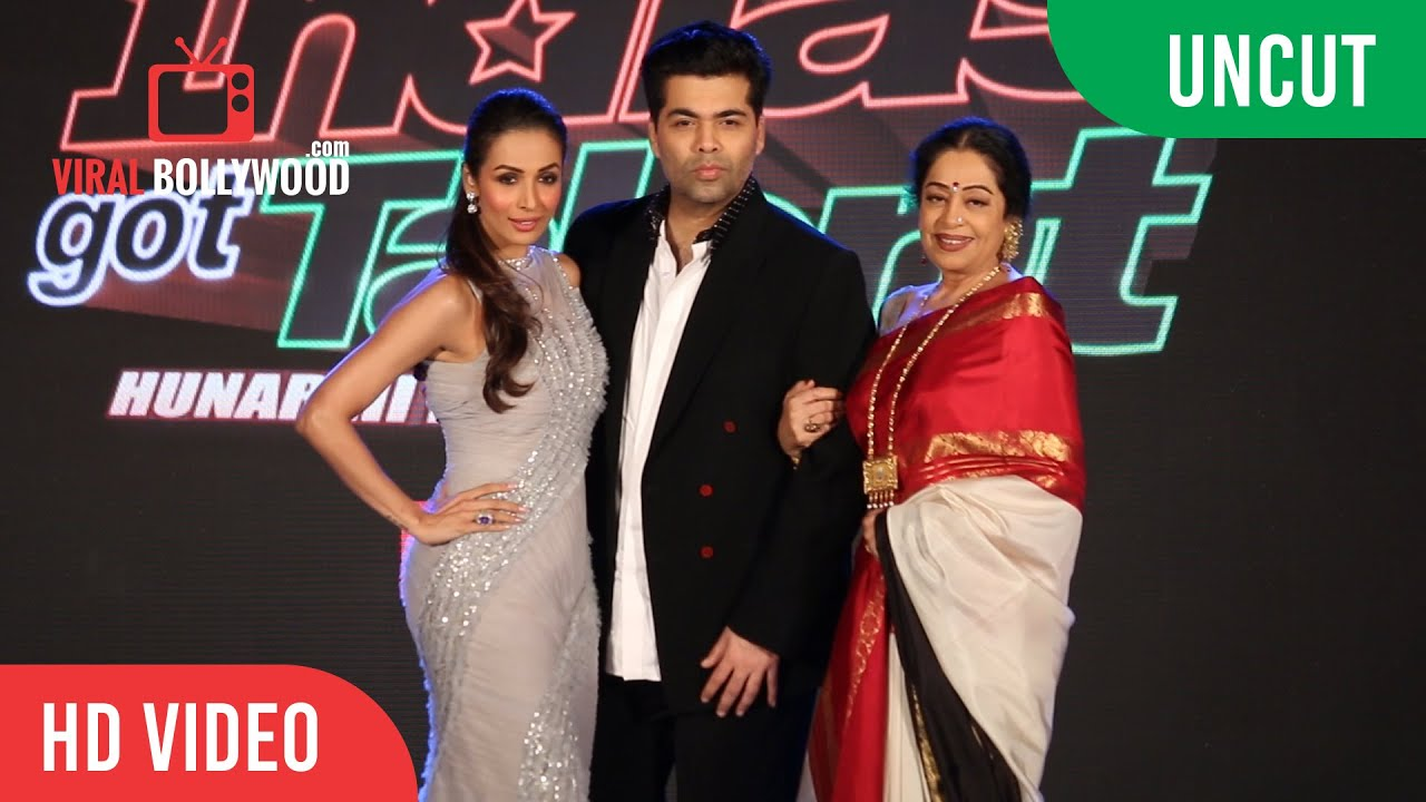 uncut indias got talent season 7 launch karan johar malaika arora kirron kher colors tv youtube - Colors Tv India